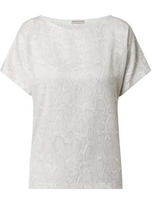 Bluzka bawełniana z printem Drykorn