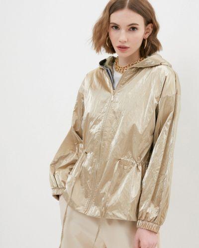 Облегченная куртка золотая Rinascimento