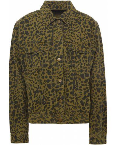 Армейская зеленая ватная куртка Ba&sh