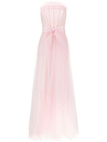 Sukienka różowa w groszki Philosophy Di Lorenzo Serafini