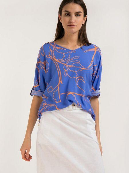 Свободная расклешенная блузка с длинным рукавом Finn Flare