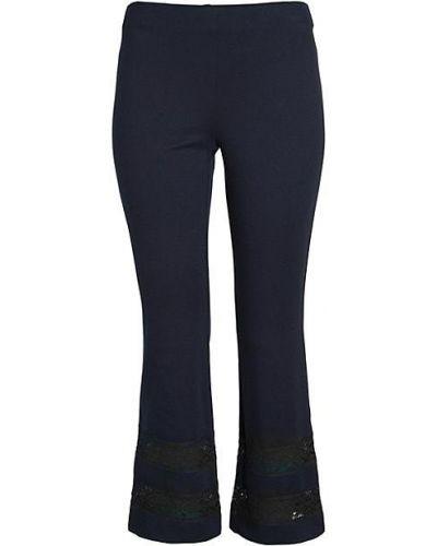 Niebieskie spodnie koronkowe sznurowane Bailey 44