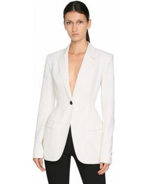 Пиджак приталенный с накладными карманами Mugler