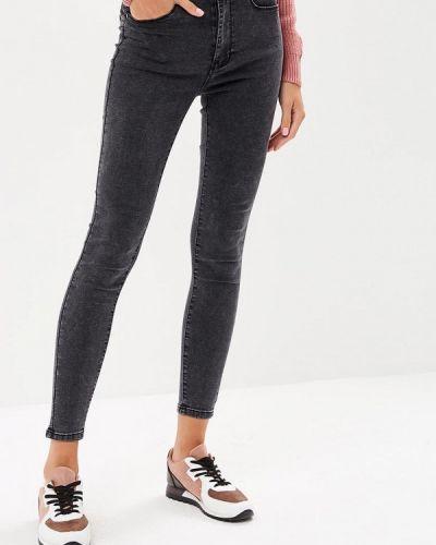 Серые джинсы-скинни Regular