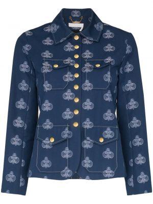 Пиджак длинный - синий Chloé