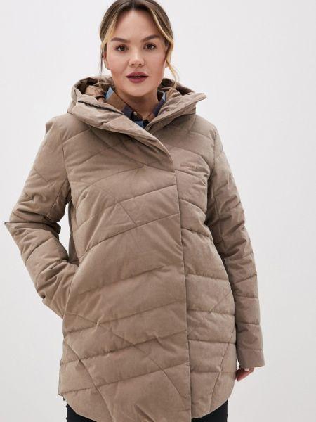 Утепленная куртка весенняя коричневая Merrell