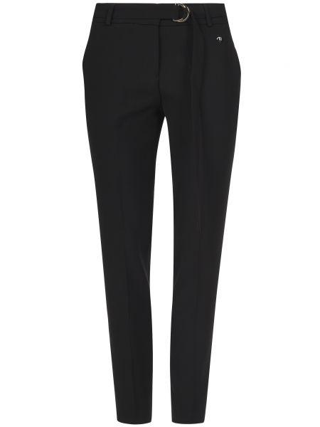 Брюки из полиэстера - черные Trussardi Jeans