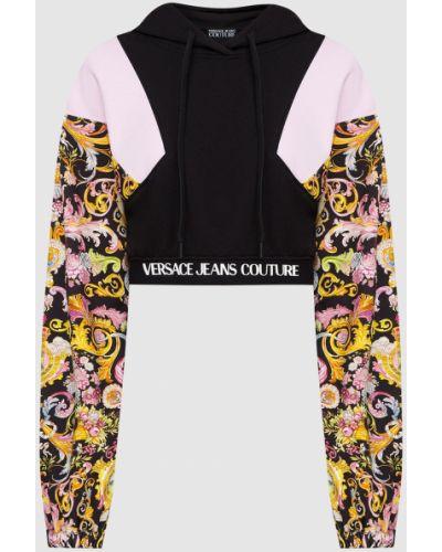 Черный свитшот Versace Jeans Couture