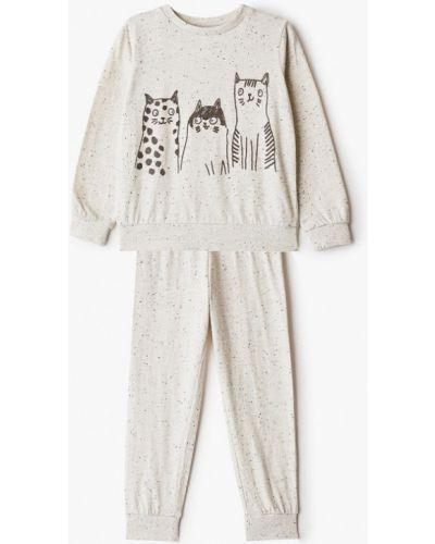 Бежевая пижамная пижама Sela