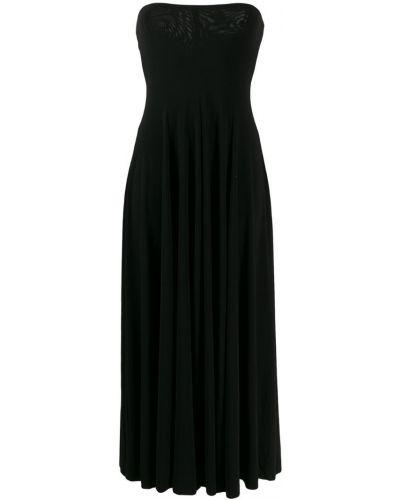Платье без бретелек Norma Kamali