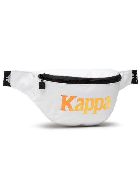 Biała saszetka Kappa