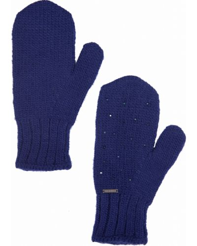 Перчатки акриловые синий Finn Flare