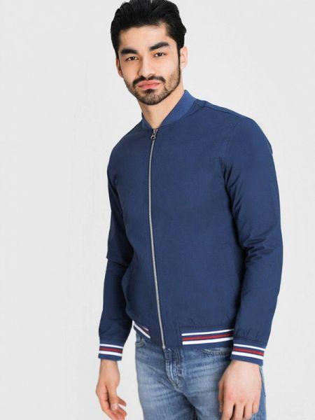 Куртка легкая синяя Ostin