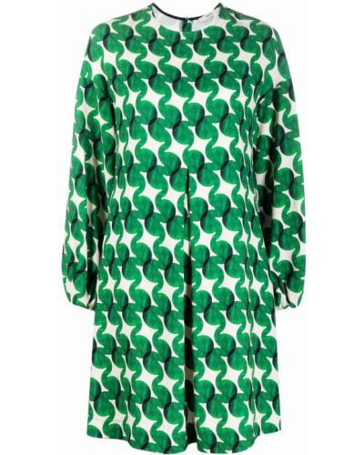 Платье макси длинное - зеленое Odeeh