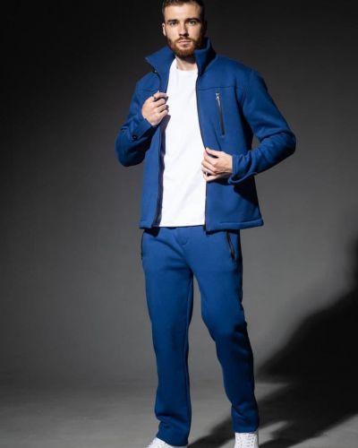Флисовый спортивный костюм - синий Rozetka