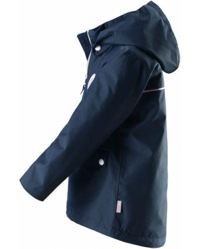 Утепленная куртка с рисунком синий Reima