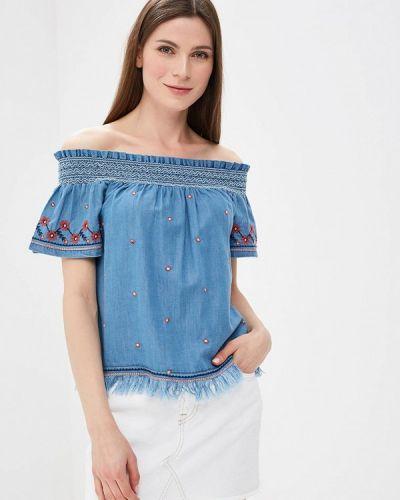Блузка с открытыми плечами Pepe Jeans
