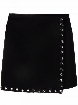 Черная шерстяная юбка P.a.r.o.s.h.