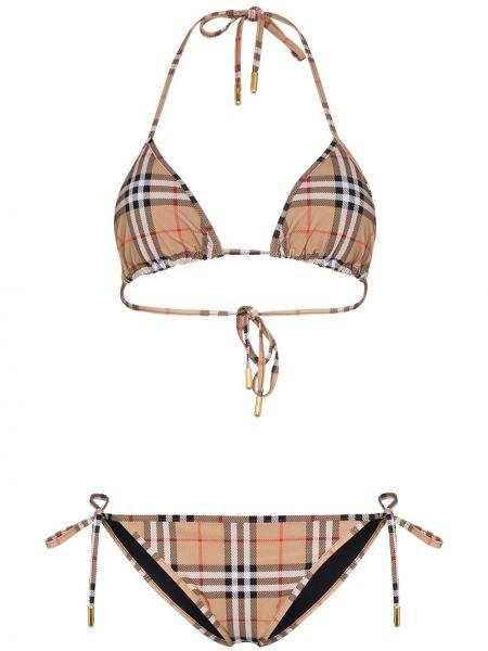 Bikini, brązowy Burberry