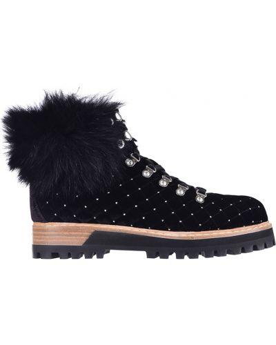 Черные ботинки Le Silla