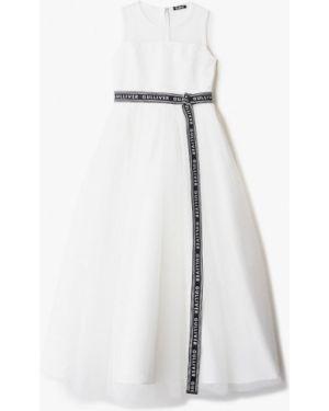 Платье на торжество белое Gulliver