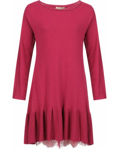 Шерстяное платье - розовое Twin-set