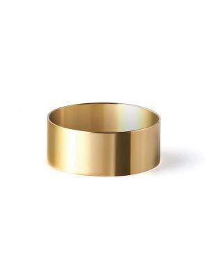 Золотистое кольцо золотое Shihara
