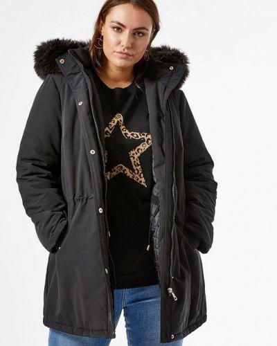 Утепленная коричневая куртка Dorothy Perkins Curve
