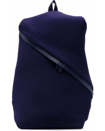 Plecak - niebieski Pleats Please Issey Miyake
