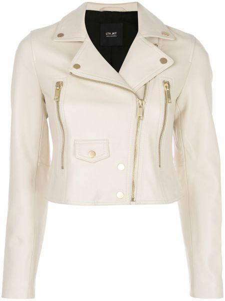 Кожаная куртка на молнии с карманами Lth Jkt