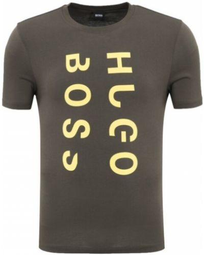 Zielona koszula Hugo Boss
