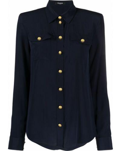 Klasyczna koszula, niebieski Balmain