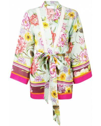 Жакет кимоно зеленый P.a.r.o.s.h.