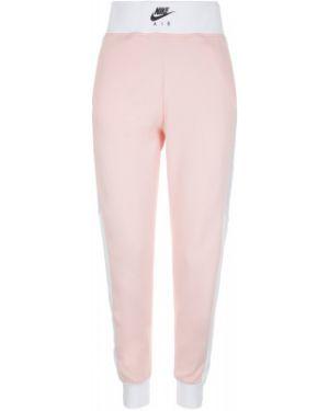 Спортивные брюки розовый из вискозы Nike