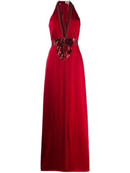 Платье с вышивкой с V-образным вырезом Temperley London
