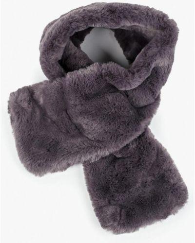 Серый шарф осенний Keddo