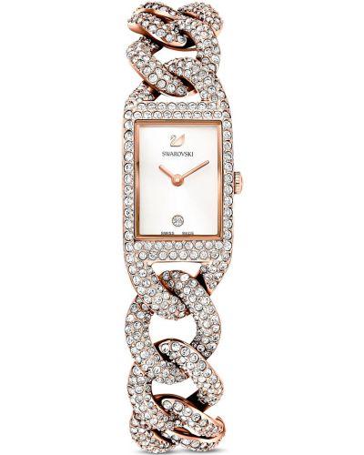 Часы серебристые Swarovski