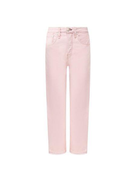 Хлопковые джинсы - розовые Rag&bone