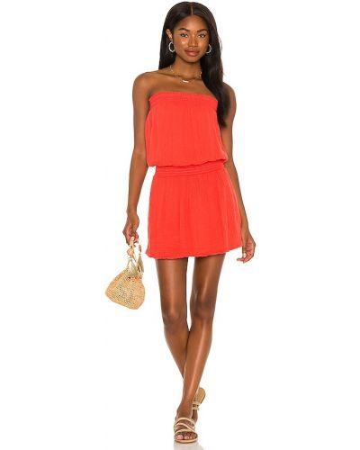 Платье макси длинное - оранжевое Michael Stars