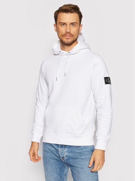 Biały dres Calvin Klein Jeans