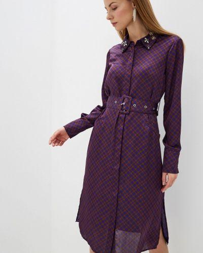 Платье платье-рубашка осеннее Silvian Heach