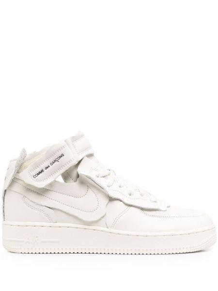 Ażurowy biały top zasznurować okrągły nos Nike