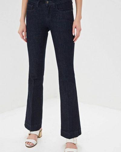 Широкие джинсы расклешенные синие Unq