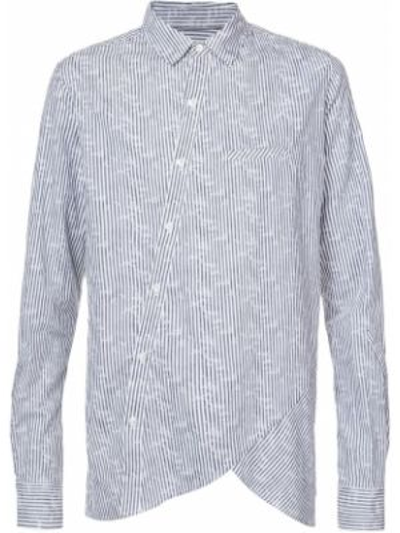 Хлопковая серая рубашка Private Stock