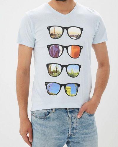 Голубая футболка Paragoose