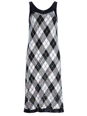 Черное платье винтажное с рисунком Jean Paul Gaultier Pre-owned