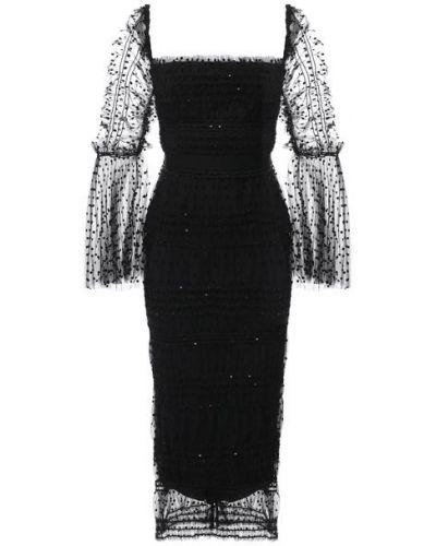 Платье с подкладкой Self-portrait