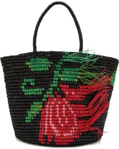 Пляжная сумка с бахромой с ручками Sensi Studio