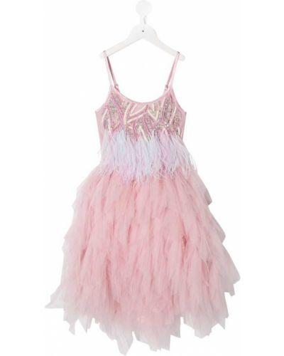 Пышное розовое пышное платье Tutu Du Monde