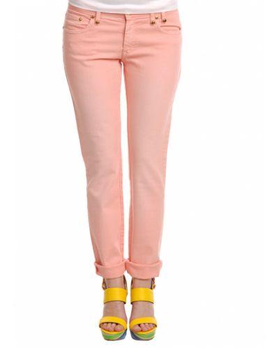 Розовые брюки Blumarine